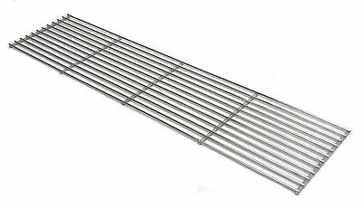 HEAVY DUTY STAINLESS STEEL BBQ BARBECUE COOKING GRILL GRATE - 112cm x 30cm