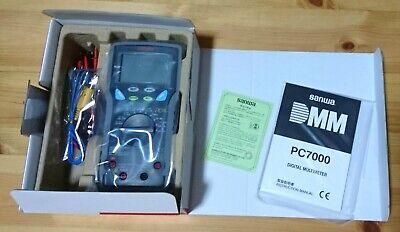 Sanwa Electric Digital Multi Meter Pc-7000 Digital Test Equipment Fs From Japan