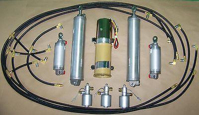 1960 T-bird Thunderbird Convertible Top/Lid Pump, Hoses, Cylinders, Solenoid Kit