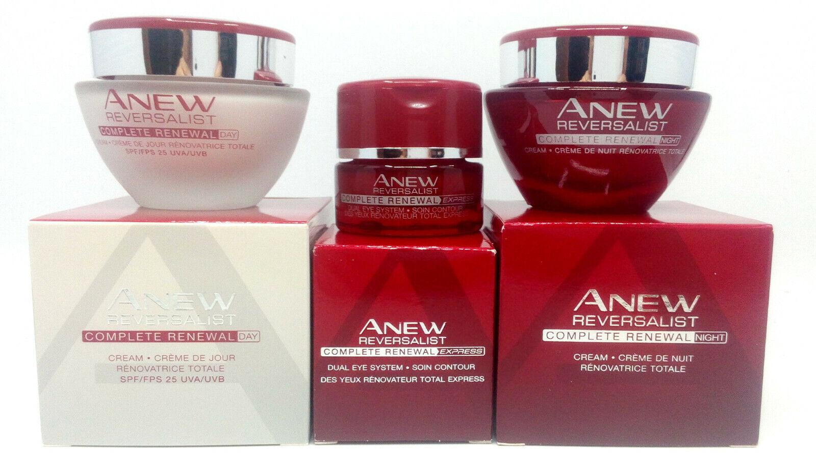 Avon Anew Reversalist Complete Renewal: Day Cream + Night Cr