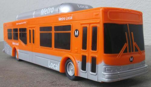 1/50 Scale NABI Bus Los Angeles Metro Local Transit model bus LA Metro Orange