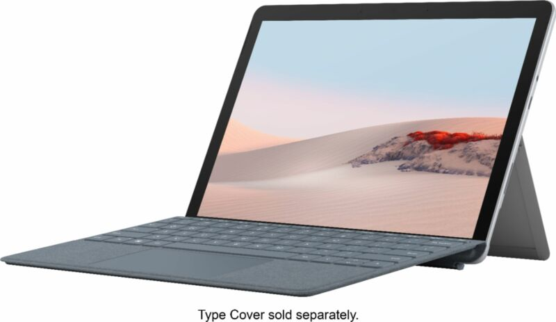 """Microsoft - Surface Go 2 - 10.5"""" Touch-Screen - Intel Core M - 8GB - 128GB St..."""