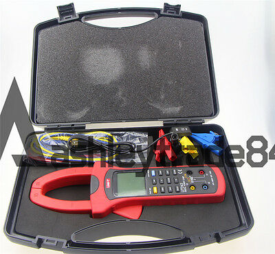Uni-t Ut243 Three Phase True Rms Harmonic Analysis Power Clamp Meter Usb Data