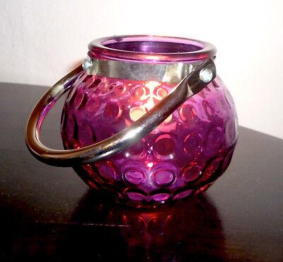 Windlicht Glas * Teelichthalter  innen&außen* orientalische Farben* 2er Set*OVP*