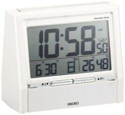 SEIKO Clock Taking Clock TALK LINER DA206W Japanese/English F/S Japan Brand new