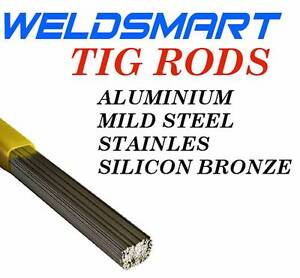 TIG FILLER RODS- ALL SIZES & GRADES ALUMINIUM, STAINLESS, MILD Canning Vale Canning Area Preview