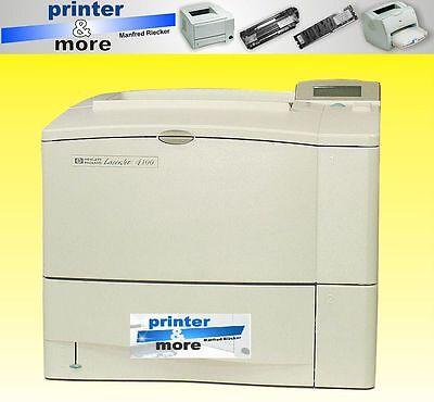 Hp Drucker Reparatur (Reparatur Wartung Service für HP LASERJET 4100 Rechnung mit MwSt)
