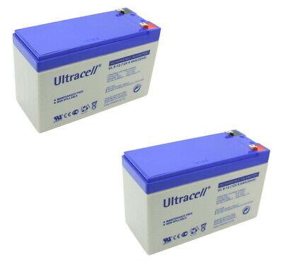 25% mehr Sicherheit 7,2Ah 2x 12V 9,0Ah Akku APC USV Smart-UPS 750...