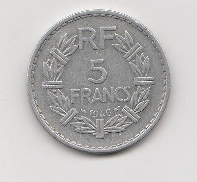 5 Francs  Frankreich   1946     (2235)