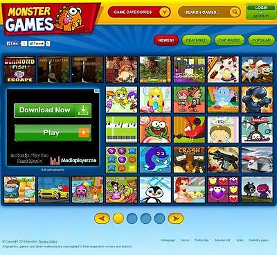 Arcade Games Website - Online Business That You Can Earn From Home