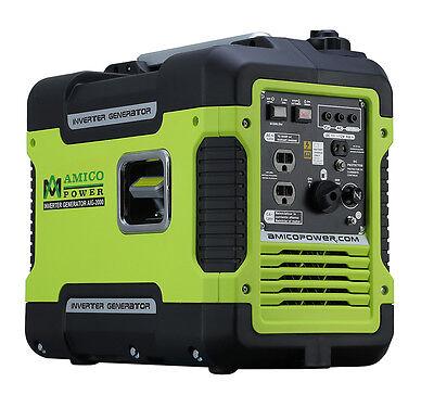 Amico 2000-Watt Portable Digital Inverter Quiet Generator- EPA & CARB Approved