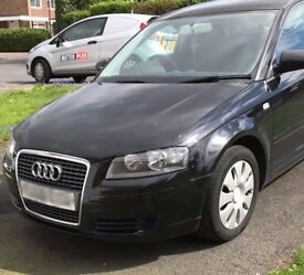 Audi A3 1.6 Special Edition 3dr, Black, 8 months MOT, New mats, new Tires, Miles 95313