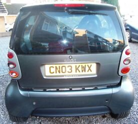 2003 Smart ForTwo Passion Coupé 600cc for Repair (or Spares)