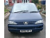 806 Petrol Lpg 2.0 16v automatic MPV spares and repair