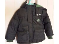Boys TU coat aged 1-1 ½ years