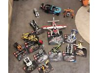 LEGO TECHNIC BUNDLE - COLLECT NORWICH NR14 - £140 FOR BUNDLE OR INDIVIDUAL SELLING PRICES LISTED