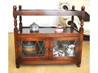 OLD CHARM Sideboard Serving Unit Oak Dining Room Furniture Dining Room Cabinet