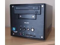 +++ Shuttle Cube PC Intel Dual Core DVD-RW Win 7 Office 2016 REFURBISHED CAN DELIVER +++