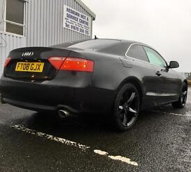 Audi A5 2.7 TDI V6 - Huge Spec - Leather - Sat Nav - B&O