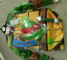 Childs ninja turtles dress up age 9 - 10
