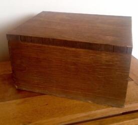 Solid Wood Box
