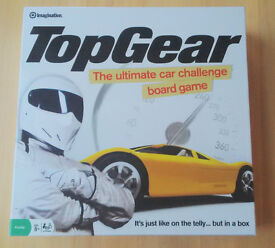 BOARD GAME: Topgear in Excellent Condition (Never played with, still original packaging)
