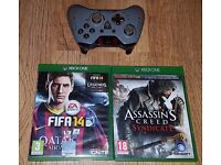 Xbox One CoD:AW Sentinel controller + 2 games
