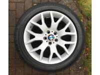 4 x WINTER TYRES & BMW ALLOYS