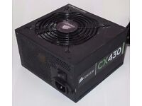 Corsair CX430 Gamer 430W ATX Gaming Gamer Continuous Power Supply