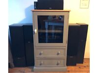 Home stereo system - Cambridge audio/Phillips acoustic solutions