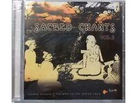 Rare collection4 Cds of Chants for meditations. Various artists.