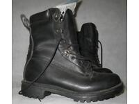 Army boots size 14