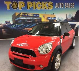 2012 MINI Cooper S Countryman ALL 4, LEATHER, TWIN MOON ROOF, 6