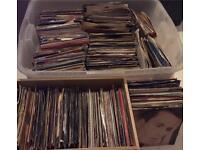 7 inch Records JOB LOT HUGE STACK