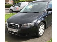 Audi A3 1.6 Special Edition 3dr, Black, 9 months MOT, new mats and tires