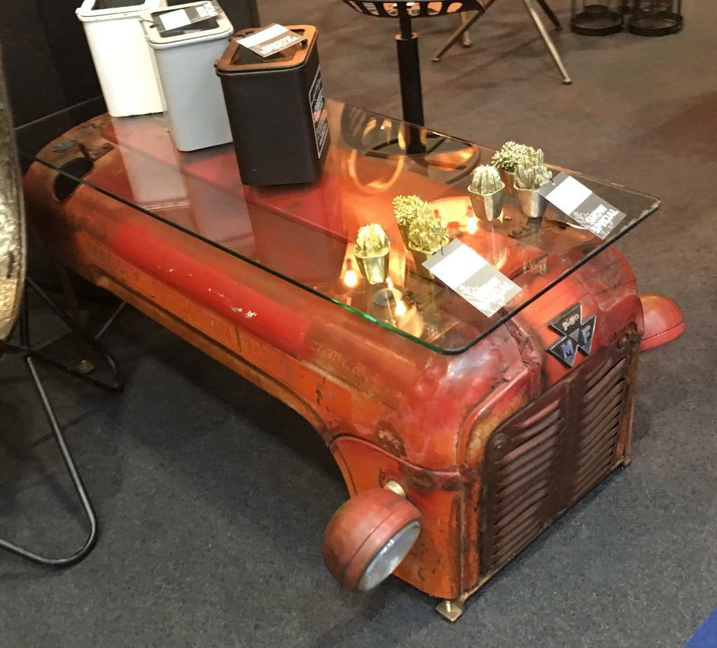 Vintage Tractor Bonnet Coffee Tables