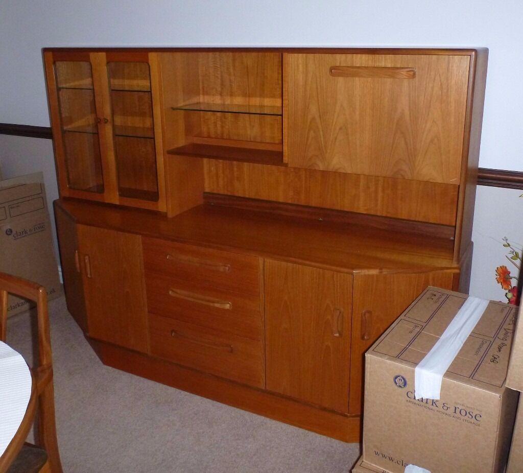 G Plan Wall Unit Dresser Cabinet
