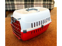 Small Metal Door Carrier for Cats or Small Dogs