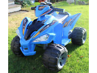 Childs Ride on 12 volt electric Quad