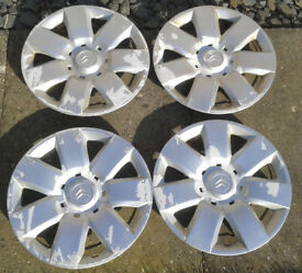 "15"" Wheel Trims Citroen Berlingo"