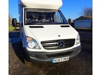 Mercedes LWB Luton tail lift MB approved used warranty