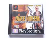 Duke Nukem Land of the Babes for the Sony PlayStation