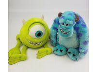 JOBLOT: Disney Store Monsters Inc / University Soft Toys & Figures