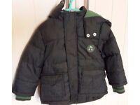 Boys TU coat aged 1-1 ½ years