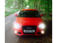 Audi A3 2.0 turbo petrol, black edition, 2 door. S-line.