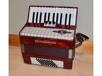 Royal Standard Piano Accordion.