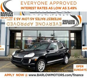 2008 Porsche Cayenne S**AMVIC INSPECTION & CARPROOF PROVIDED!