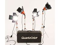 Ianiro Quartzcolor 4 x 800W Redhead Lighting Kit