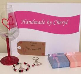 Handmade Mothers Day gift set now reduced £15