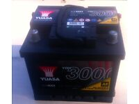 New battery for Ford KA (2000 model) - only used for 80miles, from AA with 4 year warranty